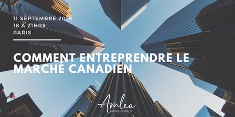 Entreprendre au Canada billets