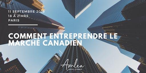 Comment entreprendre le marché canadien