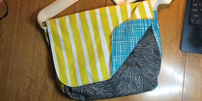 Let's Make A Happy Messenger Bag With Gary!