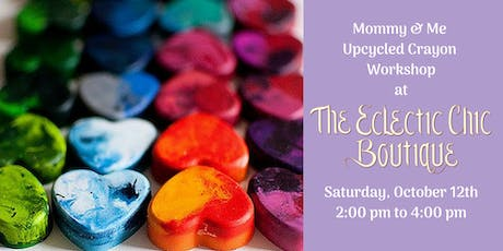 Mommy & Me Upcycled Crayons Workshop tickets