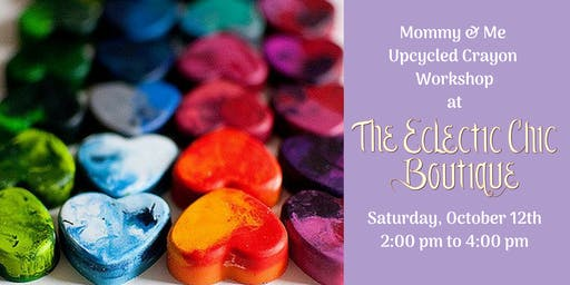 Mommy & Me Upcycled Crayons Workshop