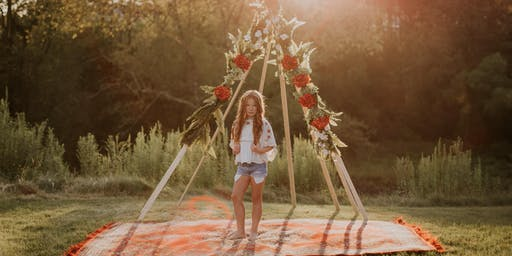 End of Summer Boho Teepee Mini-Sessions - SOLD OUT!!
