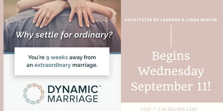 Marriage Dynamics tickets
