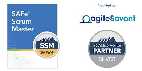 SAFe 4.6 Scrum Master w/ SSM Certification tickets