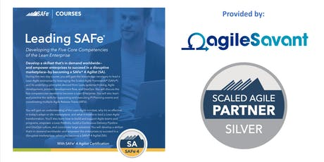 Leading SAFe 4.6 w/ SA Certification  tickets