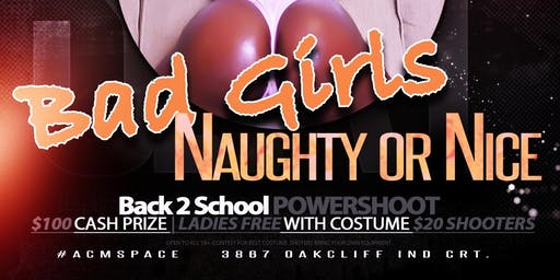 BAD GIRLS: Back 2 School Powershoot