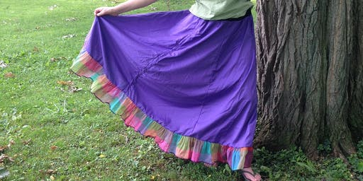 Make your own no pattern fair skirt
