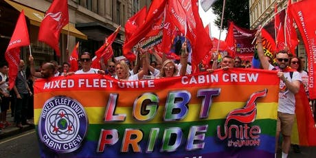 Unite the Union - Pride Marching Group bilhetes