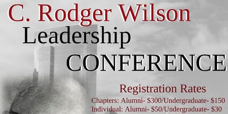 2019 NCP C.Rodger Wilson Leadership Conference tickets