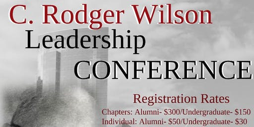 2019 NCP C.Rodger Wilson Leadership Conference