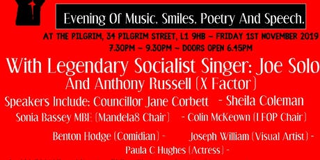 Solidarity Forever: Evening Of Music, Smiles, Poetry And Speech. tickets