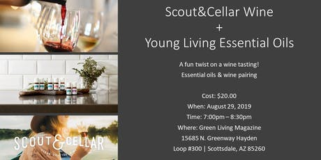 Wine & Essential Oils tickets