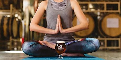 Yoga + Beer tickets