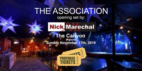 Nick Marechal opening for The Association tickets