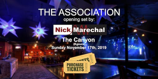 Nick Marechal opening for The Association
