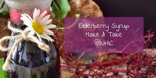 Elderberry Make and Take at Natural Health Improvement Center of DSM