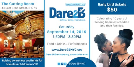 Dare2B Blue Party Fundraiser - Benefitting Homeless Kids in NYC tickets
