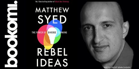 Unleash The Power of Diverse Thinking, with Matthew Syed. tickets