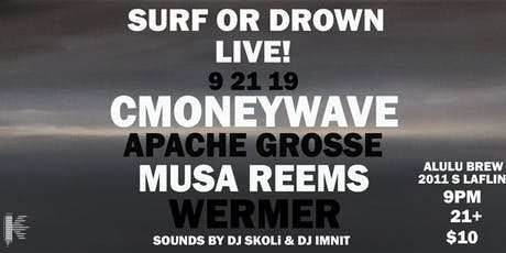 SURF OR DROWN LIVE  tickets