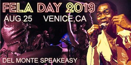 Fela Day 2019 tickets
