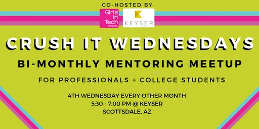 Girls in Tech Phoenix Bi-Monthly Mentoring Meetup