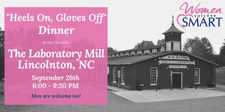 Women Vote Smart - Heels On, Gloves Off Dinner - Lincoln County, NC tickets