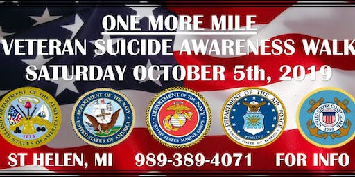 One More Mile Suicide Awareness Walk, Bike or Roll Event