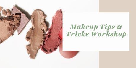 Makeup Tips & Tricks Workshop tickets