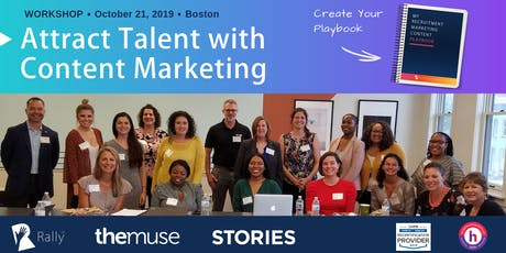 Workshop: Create Your Recruitment Marketing Content Playbook [Boston, MA] tickets