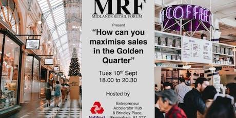 Midlands Retail Forum: Golden Quarter Event 2019 tickets