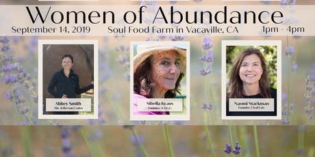 Women of Abundance 2019 A Women's Speaker Series  tickets