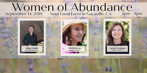 Women of Abundance 2019 A Women's Speaker Series