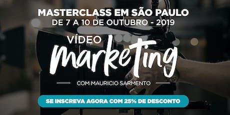 Masterclass Vídeo Marketing - São Paulo ingressos