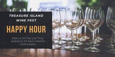 Treasure Wine Fest Happy Hour on Treasure Island