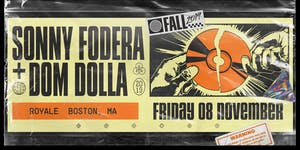 Sonny Fodera x Dom Dolla at Royale | 11.8.19 | 10:00...