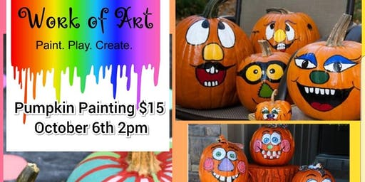 DIY Pumpkin Painting