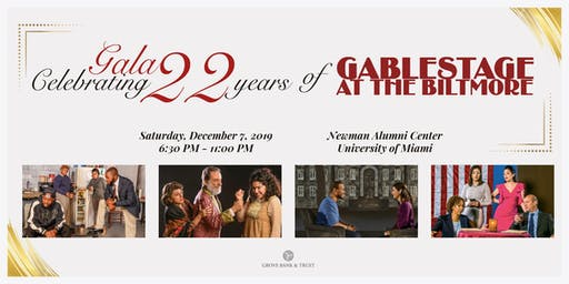 Gala Celebrating 22 years of GableStage