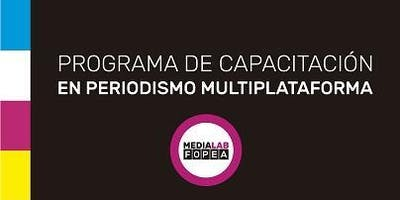 2º Ed. 2019 - PROGRAMA DE CAPACITACIÓN EN PERIODISMO MULTIPLATAFORMA - CABA