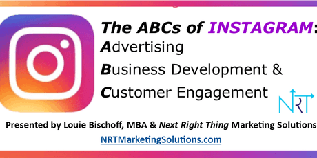 8.22.19: The ABCs of INSTAGRAM: Advertising; Business Development & Customer Engagement tickets