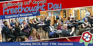 California Freethought Day 2019 - Supporters' Reception