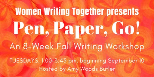 Fall 2019 Tuesday Workshop: Pen, Paper, Go!