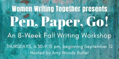 Fall 2019 Thursday Workshop: Pen, Paper, Go!