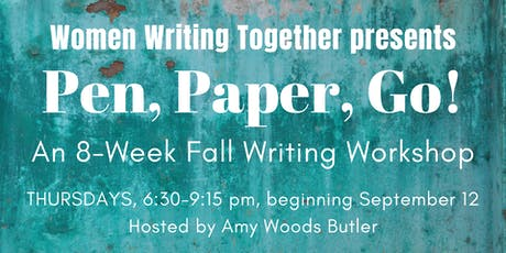 Fall 2019 Thursday Workshop: Pen, Paper, Go! tickets