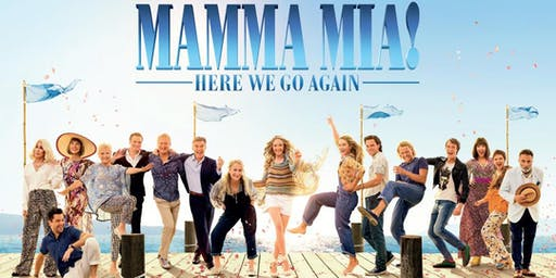 Folly Avenue Film Club presents Mamma Mia, Here We Go Again for I Support the Girls