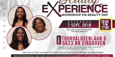 Beauty experience workshop en beauty Day 2019
