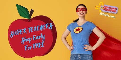 Teacher, ISD & Childcare Staff Free Sneak Peak Coupon