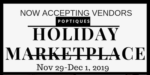 Holiday Marketplace Vendor Opportunity