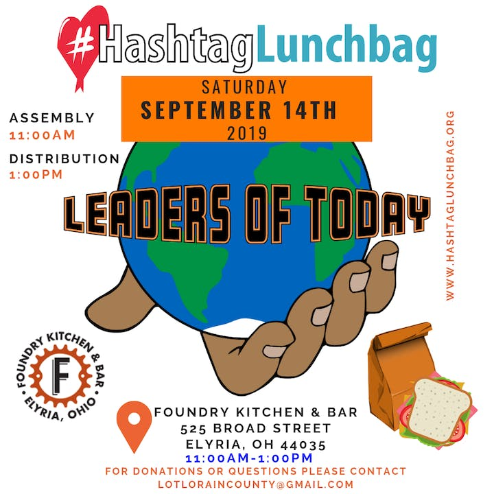 Leaders Of Today #HashtagLunchbag Registration, Sat, Sep 14, 2019 at ...