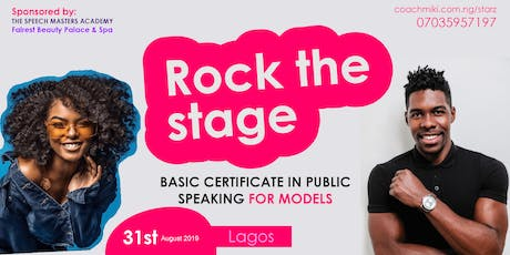 PUBLIC SPEAKING TRAINING FOR MODELS IN LAGOS tickets