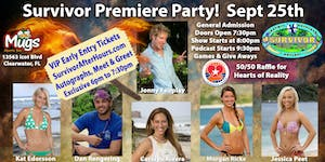 Survivor Premiere Party VIP Early Entry with Jonny...